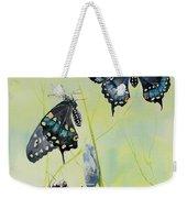 Swallowtail Story Weekender Tote Bag