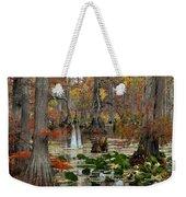 Swamp In Fall Weekender Tote Bag