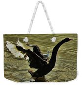Swan Dance 2 Weekender Tote Bag