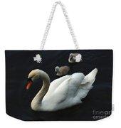 Swan Family 1 Weekender Tote Bag