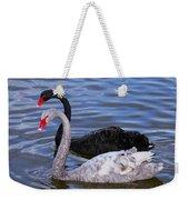 Swan Lake Weekender Tote Bag