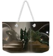 Swann Fountain At Night Weekender Tote Bag