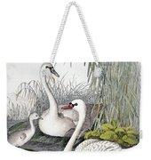 Swans, C1850 Weekender Tote Bag by Granger
