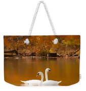 Swans Soft And Smooth Weekender Tote Bag
