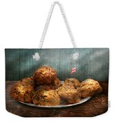 Sweet - Scone - Scones Anyone Weekender Tote Bag by Mike Savad