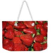 Sweet Florida Strawberries Weekender Tote Bag