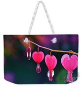 Sweet Hearts Weekender Tote Bag