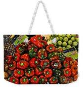 Sweet Red Peppers Weekender Tote Bag