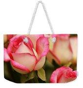 Sweet Roses Weekender Tote Bag