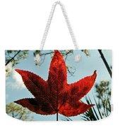 Sweetgum Weekender Tote Bag