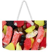 Sweets And Candy Mix Weekender Tote Bag