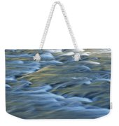 Swiftly Rushing Water In A Stream Weekender Tote Bag