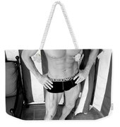 Swimmer 5 Weekender Tote Bag