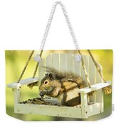 Swingin Squirrel Robber Weekender Tote Bag