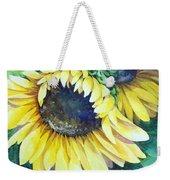 Swingin' Sunflowers Weekender Tote Bag