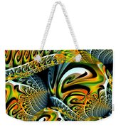 Swirling Colors Weekender Tote Bag