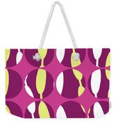 Swirly Stripe Weekender Tote Bag