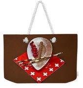 Swiss Chocolate Praline Weekender Tote Bag