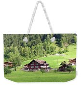 Swiss Village In The Alps Weekender Tote Bag