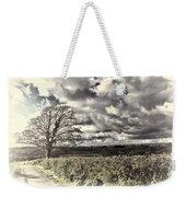 Sycamore Tree Cream Weekender Tote Bag