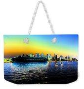 Sydney In Color Weekender Tote Bag