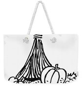 Symbol: Thanksgiving Weekender Tote Bag