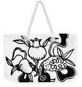 Symbol: Three Fruits Weekender Tote Bag