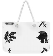 Symbols: Victory And War Weekender Tote Bag by Granger