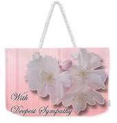 Sympathy - Cherry Blossoms Weekender Tote Bag