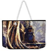 Ta Prohm Khmer Temple In Cambodia Weekender Tote Bag