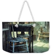 Table And Chairs Weekender Tote Bag by Jill Battaglia