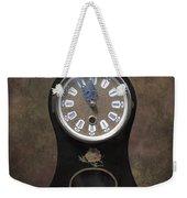 Table Clock Weekender Tote Bag