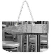 Tables And Stools Weekender Tote Bag