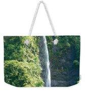 Tahitian Waterfall Weekender Tote Bag