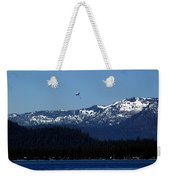 Tahoe Parasailing Weekender Tote Bag