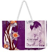 Take In The Sun Hang Out The Moon Weekender Tote Bag