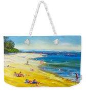 Taking It Easy At Coloundra Beach Queensland Australia Weekender Tote Bag