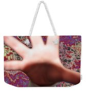 Talk To The Hand  Weekender Tote Bag