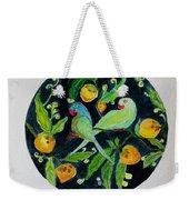 Talkative Parakeets Weekender Tote Bag
