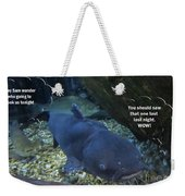 Talking Fish Weekender Tote Bag