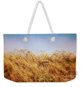 Tall Grass In The Wind Weekender Tote Bag