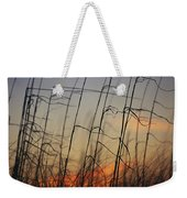 Tall Grasses Blowing In The Wind Weekender Tote Bag
