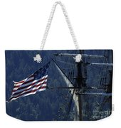 Tall Ship 3 Weekender Tote Bag by Bob Christopher