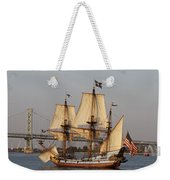 Tall Ship Four Weekender Tote Bag