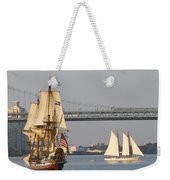 Tall Ship Six Weekender Tote Bag