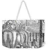 Taming Wild Elephants Weekender Tote Bag