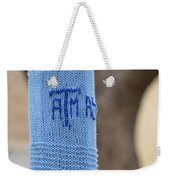 Tamu Astronomy Crocheted Lamppost Weekender Tote Bag