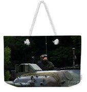 Tank Commander Of A Leopard 1a5 Mbt Weekender Tote Bag