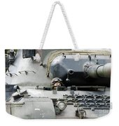 Tank Driver Of A Belgian Leopard 1a5 Weekender Tote Bag