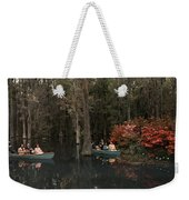 Tannic Acid From Old Trees Stains Water Weekender Tote Bag